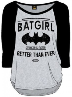 Dámske tričko - Batman - Batgirl - Better Than Ever Long Sleeve