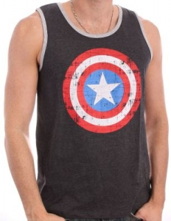 Tielko - Captain America - Shield Charcoal