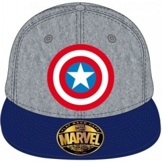 Šiltovka - Captain America - Shield Cap Grey/Navy