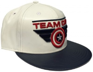 Šiltovka - Captain America - Team Cap - White/Blue