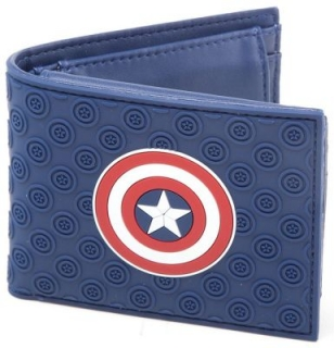 Peňaženka - Captain America - Shield Logo Bifold Blue