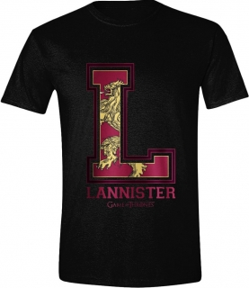 Tričko - Game of Thrones - Lannister Varsity