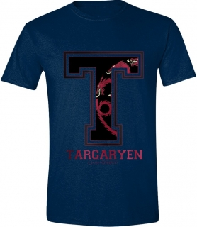 Tričko - Game of Thrones - Targaryen Varsity, Navy