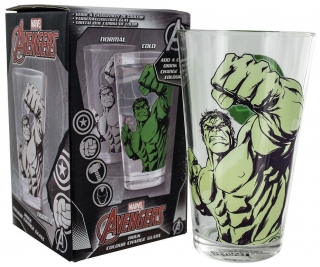 Pohár - The Hulk - Hulk Colour Change Glass