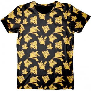 Tričko - Pokémon - Pikachu All over Print
