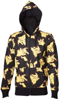 Mikina na zips - Pokémon - Pikachu All Over
