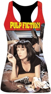 Dámsky top - Pulp Fiction - Dance Logo