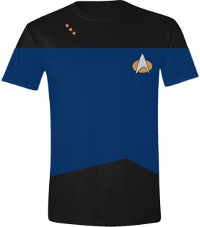 Tričko - Star Trek - Blue Uniform, Blue