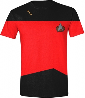Tričko - Star Trek - Red Uniform, Red