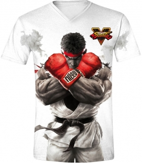 Tričko - Street Fighter - RYU, White