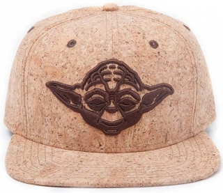 Šiltovka - Star Wars - Yoda Cork, Brown