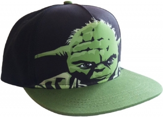 Šiltovka - Star Wars - Yoda, Black/Green