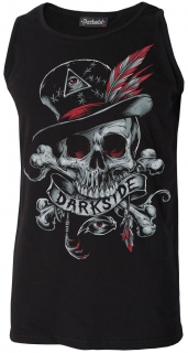 Pánske tielko Darkside - Voodoo Darkside Skull Black