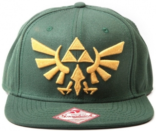 Šiltovka - Zelda - Golden Logo, Green