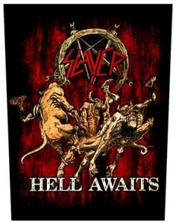 Nášivka - Slayer - Hell Awaits