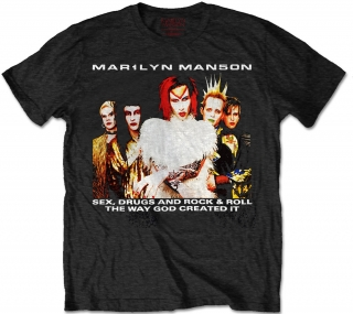 Tričko Marilyn Manson - Ock Is Dead 1999 Tour With Back Printing