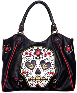 Kabelka Banned - Sugar Skull Shopper