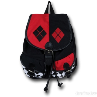 Batoh - Batman - Harley Quinn Knapsack/Backpack