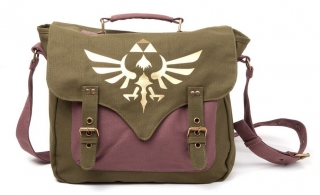 Taška - Zelda - Messenger Bag With Golden Triforce Logo