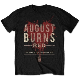 Tričko August Burns Red - Hearts Filled