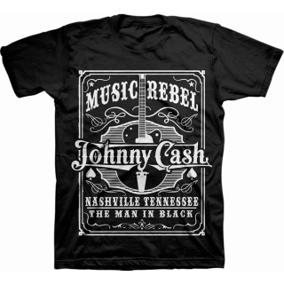 Tričko Johnny Cash - Music Rebel