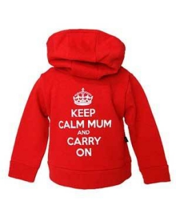 Detská mikina Darkside - Keep Calm Mum And Carry On