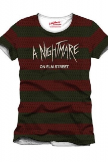 Tričko A Nightmare on Elm Street - Freddy Costume - Multicolor