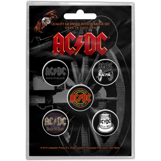 Set odznakov AC/DC - For Those About To Rock