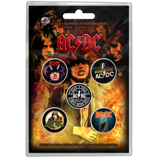Set odznakov AC/DC - For Highway to Hell