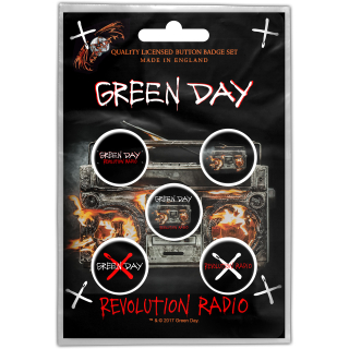 Set odznakov Green Day - Revolution Radio