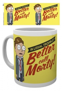 Hrnček Rick and Morty - Better Call Morty