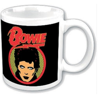 Hrnček David Bowie - Diamon Dogs Flash Logo - Premium