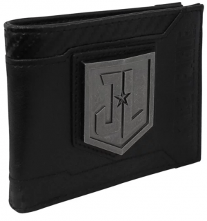 Peňaženka Justice League - Metal Logo Bifold - Black