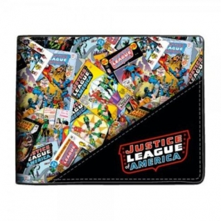 Peňaženka Justice League - All Over Bifold - Multicolor