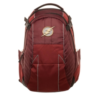 Batoh The Flash - Metal Logo Backpack - Red