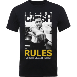 Tričko Johnny Cash - Rules Everything