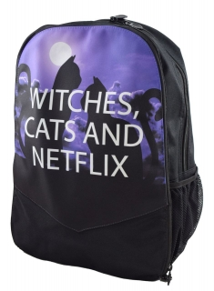 Batoh Darkside - Witches Cats and Netflix