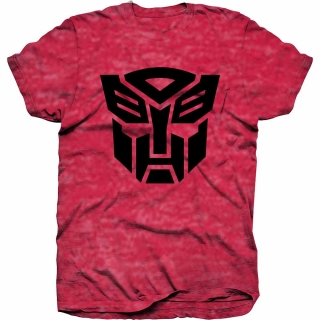 Tričko Transformers - Autobot Shield Black, red