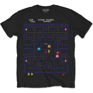 Tričko Pac-Man - Game Screen
