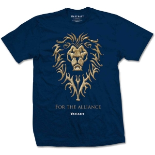 Tričko World of Warcraft - The Alliance, navy blue