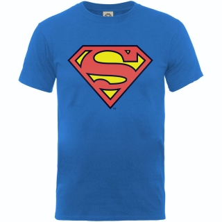 Detské tričko Superman - Superman Shield, royal blue