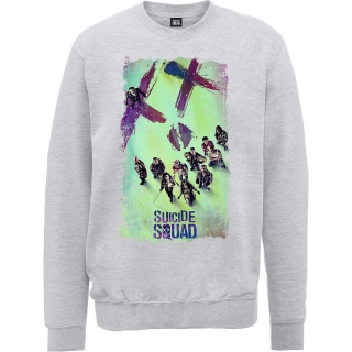 Pánsky Sweatshirt Suicide Squad - Movie Poster