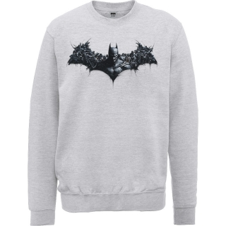 Pánsky Sweatshirt Batman - Arkham Origins Shield