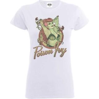 846d944d8dca Dámske tričko Justice League - Poison Ivy Badge empty