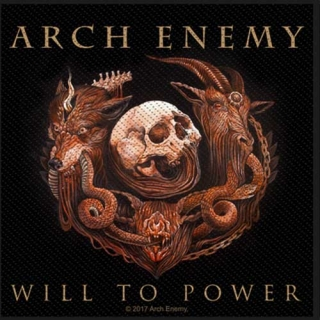 Malá nášivka - Arch Enemy - Will to Power