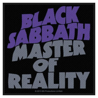 Malá nášivka - Black Sabbath - Master Of Reality