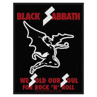 Malá nášivka - Black Sabbath - Sold Our Souls