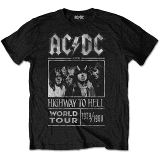Tričko AC/DC - Highway to Hell World Tour 1979/1980