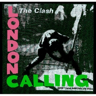 Malá nášivka - The Clash - London Calling