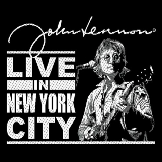 Malá nášivka - John Lennon - Live in New York City